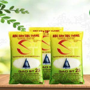 Gạo ST25 chính hãng nhà chú Cua - Đặc sản Sóc Trăng
