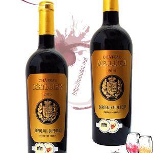Vang Pháp Chateau Meillier Bordeaux Superieur Rouge