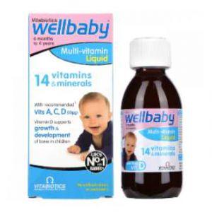 Siro Vitamin Wellbaby - bổ sung khoáng chất và vitamin cho trẻ