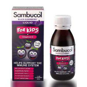 Siro tăng đề kháng sambucol (1 - 12 tuổi)