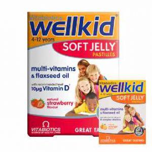 Wellkid vitamin kẹo dẻo cho bé 30v