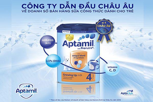 Sữa Aptamil Profutura Anh nội địa t.ốt nh.ất Châu Âu