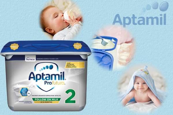 sữa aptamil anh số 2