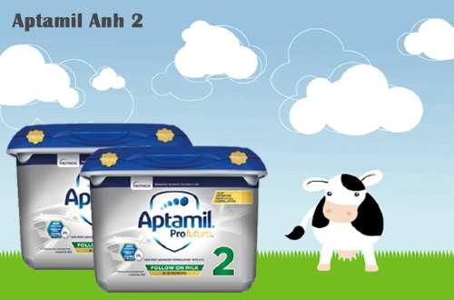 So sánh sữa Aptamil anh số 2 và Aptamil Đức số 2
