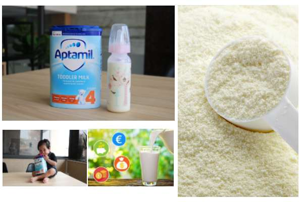 Tìm hiểu về sữa Aptamil anh số 4