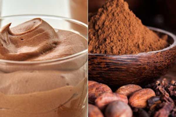 Làm váng sữa cacao