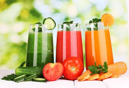 Sử dụng nước ép hoa quả giảm cân và đẹp da