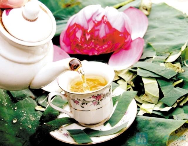 Dùng trà lá sen để giảm cân một cách an toàn