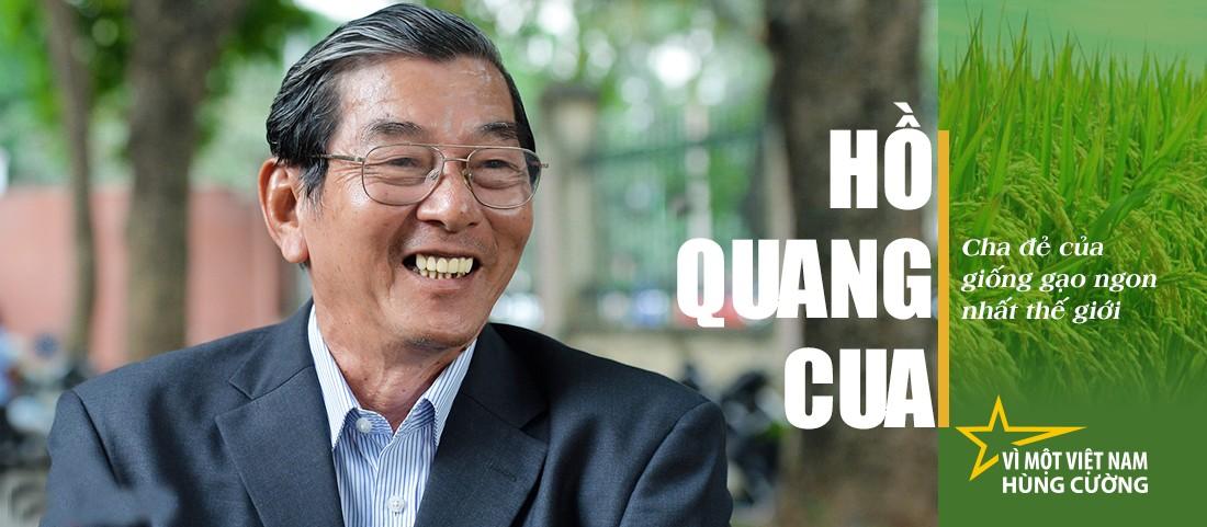 Kỹ sư Hồ Quang Cua - cha đẻ giống lúa ST24