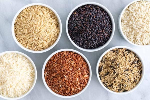 Các sản phẩm tại cửa hàng gạo sạch