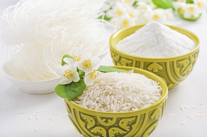Gạo Lài sữa hạt dài, màu trắng đục