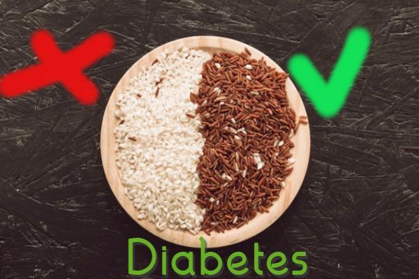 Gạo lứt được khuyên dùng để thay thế gạo trắng