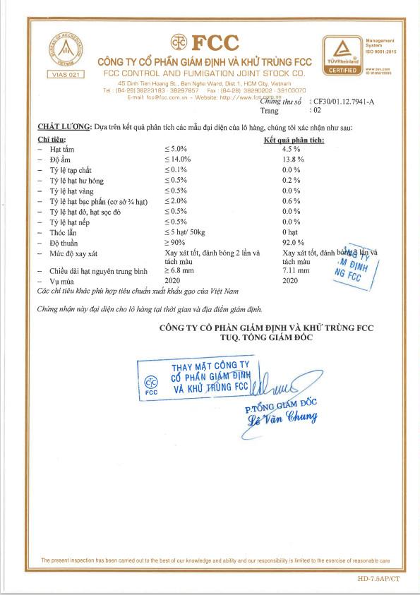 Gạo ST25 đủ tiêu chuẩn tham gia xuất khẩu