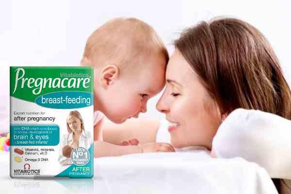 Vitamin sau sinh - PREGNACARE breast feeding