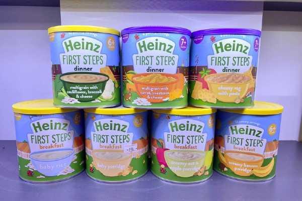 Bột ăn dặm Heinz Anh mỳ ý pasta