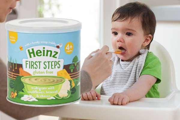 Bột ăn dặm Heinz súp lơ bông cải