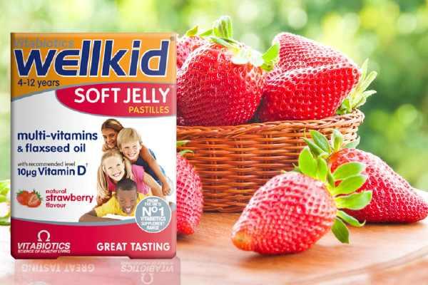 wellkid vitamin kẹo dẻo