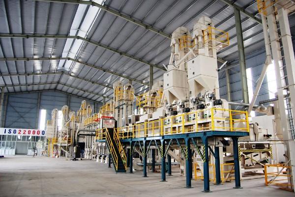 Nhà máy sản xuất hiện đại, đại chuẩn ISO 2000