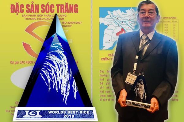 Gạo ST25 được vinh danh gạo ngon nhất thế giới